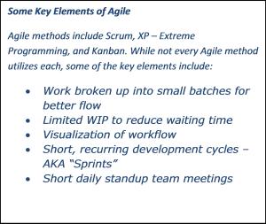 Agile Elements